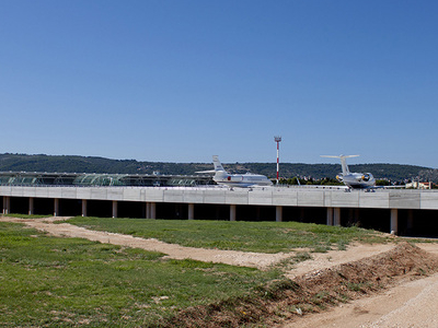 New Apron At  Split  Airport