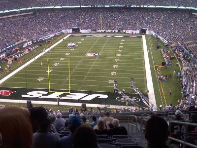 Inside MetLife Stadium