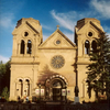 New Mexico Cathedral Santa Fe