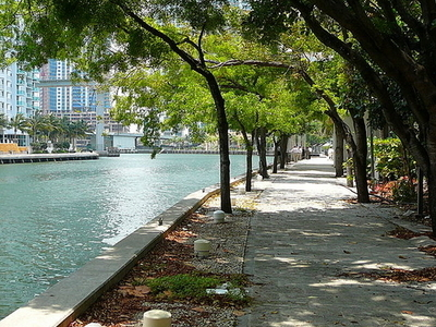 New Miami Riverwalk
