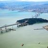 New SanFran Bay Bridge Under Construction