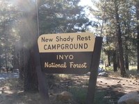 Inyo New Shady Rest Campground