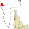 Nez Perce County Idaho Incorporated And Unincorporated Are