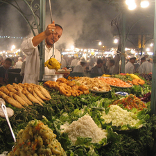 Night Market - Marrakech