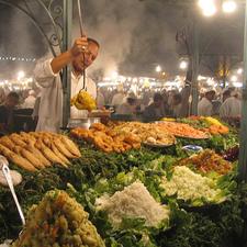 Night Market - Marrakech