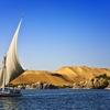 Nile River At Aswan