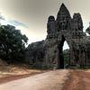 North Gate Entrance To Angkor Thom