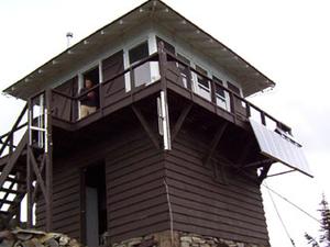 Numa Ridge Fire Lookout