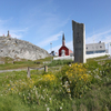 Nuuk Church And Hill