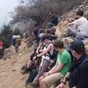 Trekkers In Tengboche