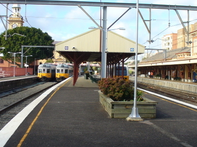 Newcastle Railway Station