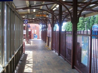 Walkway To Platforms 2, 3 And 4