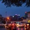 Night View Of Street