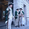 Loyalist Colonial Troops Guard Society Building