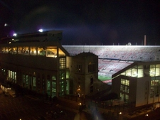 Ohio Stadium With Lights