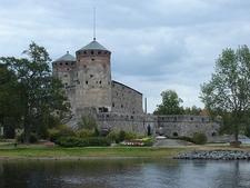 Olavinlinna Castello In Savonlinna Finland