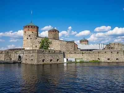 Olavinlinna Castle In Savonlinna - Finland