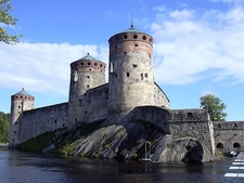 Olavinlinna Has Three Towers - Savonlinna Finland