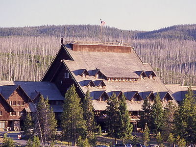 Old Faithful Inn - Yellowstone, Wyoming