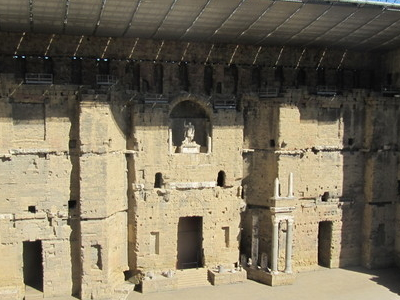 Roman Theatre With New Stage Roof
