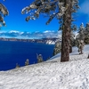 OR Crater Lake NP Landscape