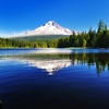 OR Trillium Lake With Mt. Hood