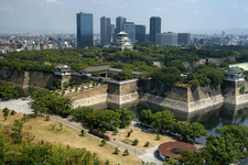 Osaka Castle Full View