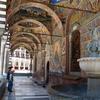 Outer Corridor With Frescoes
