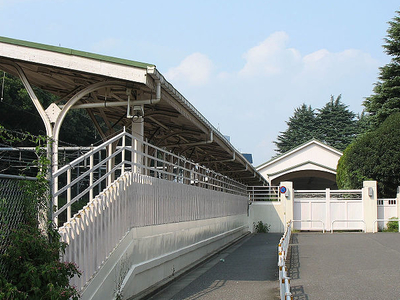 Outside Of The Imperial Train Platform