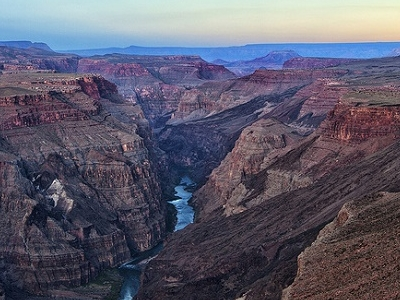 Overlooking Toroweap - Grand Canyon NP