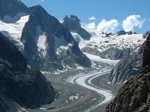 Oberaletsch Glacier