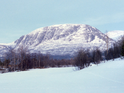 Oppdal  Almannberget  Norway