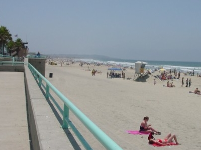 The View South Of Crystal Pier