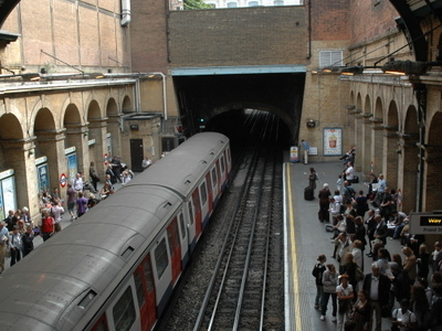 Circle And District Line Platforms - Paddington Station