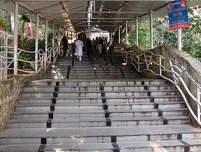 Pahari Mandir Stairway