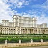 Palace Of The Parliament View In Bucharest