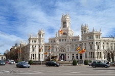 Palacio De Cibeles - Madrid City Hall - Spain