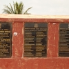 Pamban Bridge Commemorative Plaque