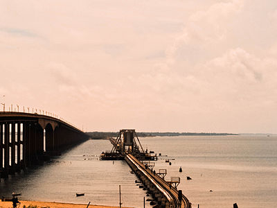 Pamban Rail Scissors Bridge