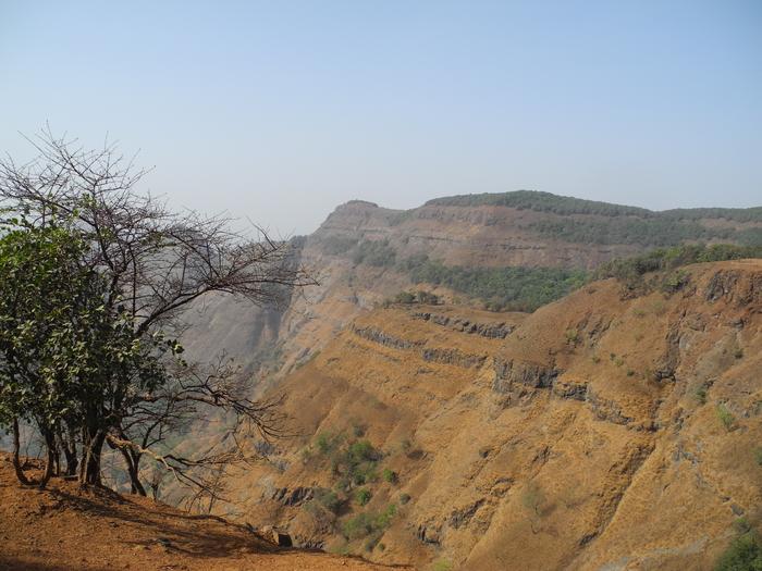 Matheran India  city photos gallery : Panorama Point Overlook Matheran Maharashtra India