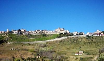 Panorama  Rende  Vista Petroni