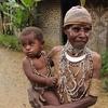 Papua New Guinea - Native Mother & Child
