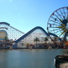 View Of Paradise Pier From Paradise Park