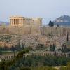 Parthenon - Athens Sunset From Philopappou