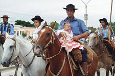 Patria Gaucha Parade In Tacuarembo