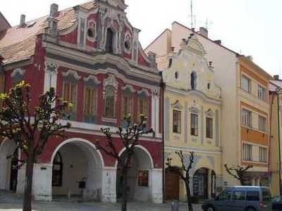 Old Houses In City Center