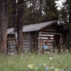 Pelican Creek Patrol Cabin - Yellowstone - USA