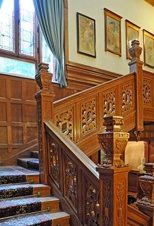 Pelişor Castle - Stairway