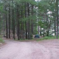 Perch Lake State Forest Campground