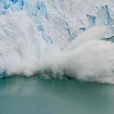 Perito Moreno Glacier Ice Fall